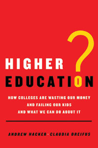"That question mark in the title is one of sarcasm and disbelief. The book's dedication aptly promises bluntness: ""To our country's students, who deserve better."""