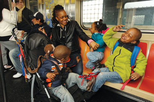 Commuting To Class With The Kids Cuny Newswire