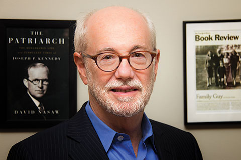 David Nasaw, the Arthur Schlesinger Jr. Professor of History at the Graduate Center