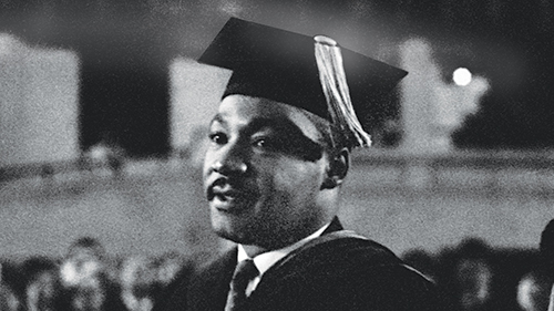 Martin luther king graduation photo 15 photos of Dr. Martin Luther King Jr. and his family in Atlanta