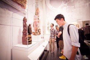 August 25 2012 Macaulay Night at the  Brooklyn Museum. In the Photo: