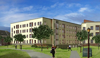 College of Staten Island Residence Hall, seeking LEED Gold Certification