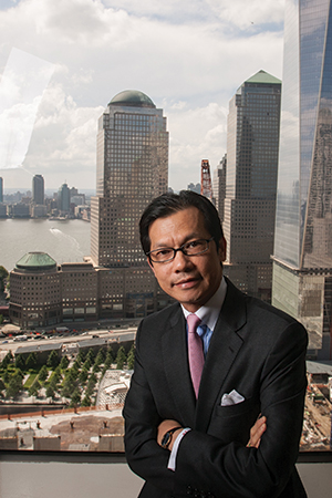 Kam Wong, CEO of the Municipal Credit Union of New York