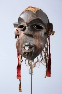 Mask, Night Secret Society,  Western Grassfields: Bamileke, Bangwa, early 20th century