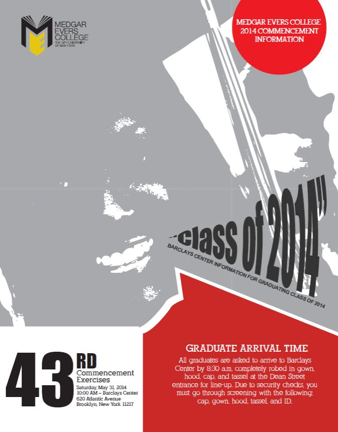 Commencement Flyer One
