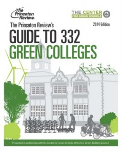 "The City College of New York is included in ""The Princeton Review's Guide to 332 Green Colleges, 2014 edition."""