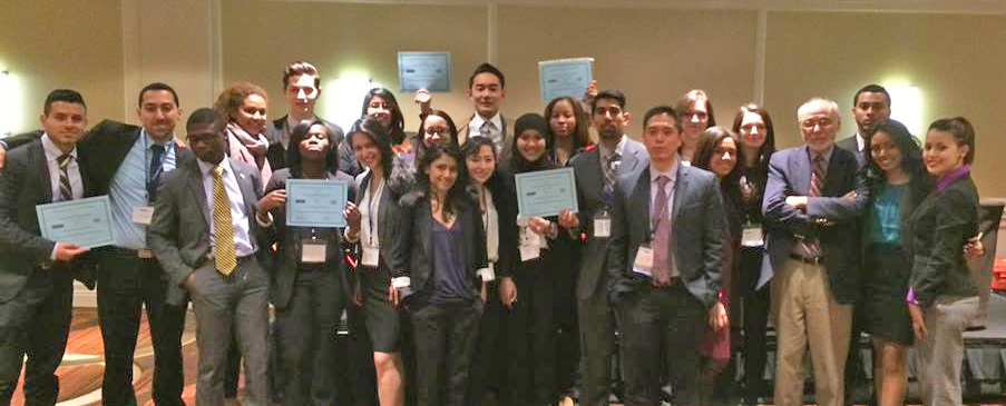 John Jay College Model United Nations Team receives Top Honors for Tenth Consecutive Year