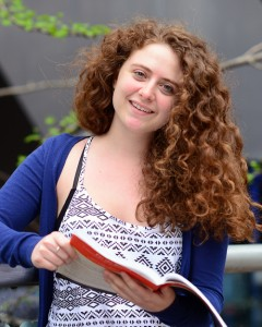 Ariela Hazan,  Macaulay Honors College at Hunter College has won a Fulbright Fellowship.  © Audrey C. Tiernan