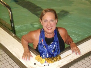 Jane Katz- 13 Maccabiah Medals 2013