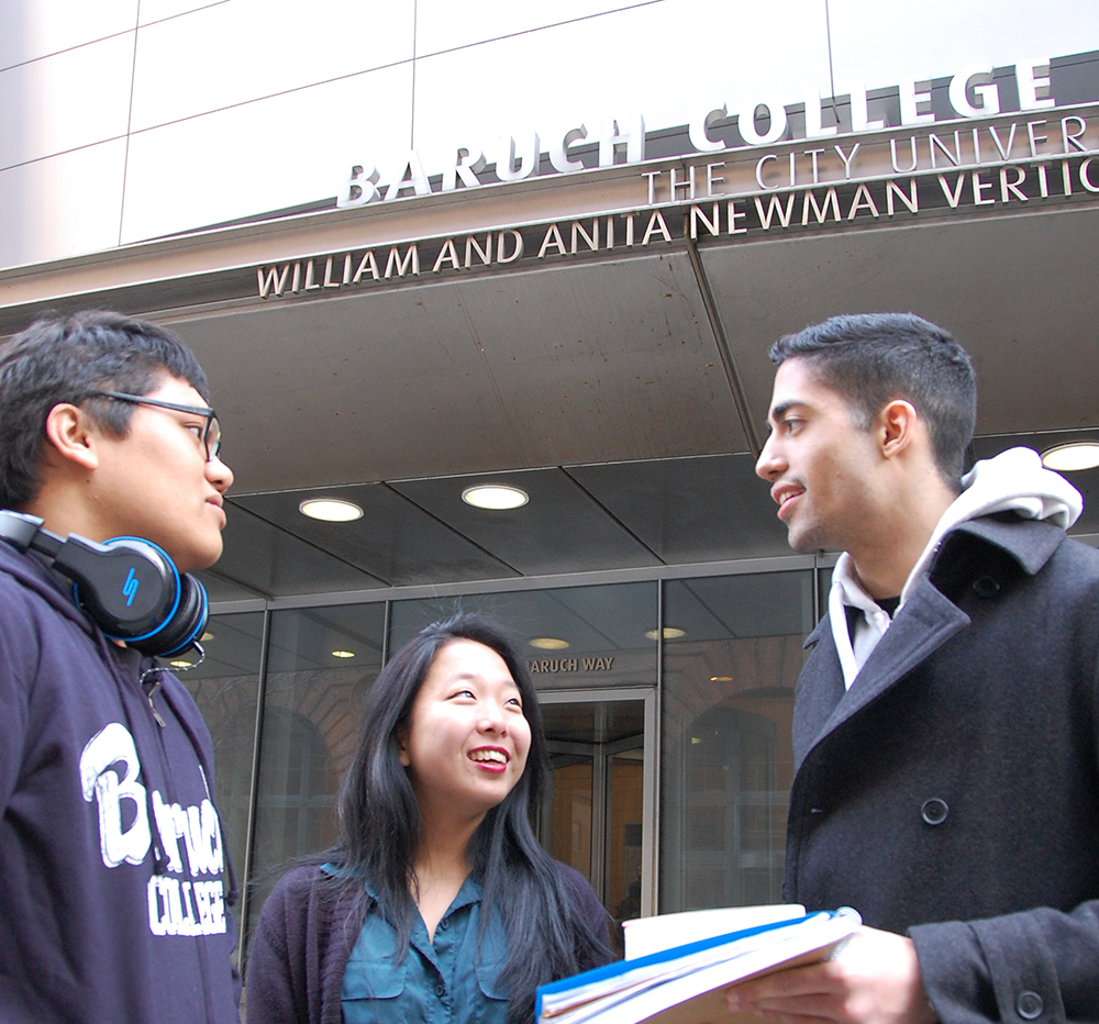 baruch students lowest debt