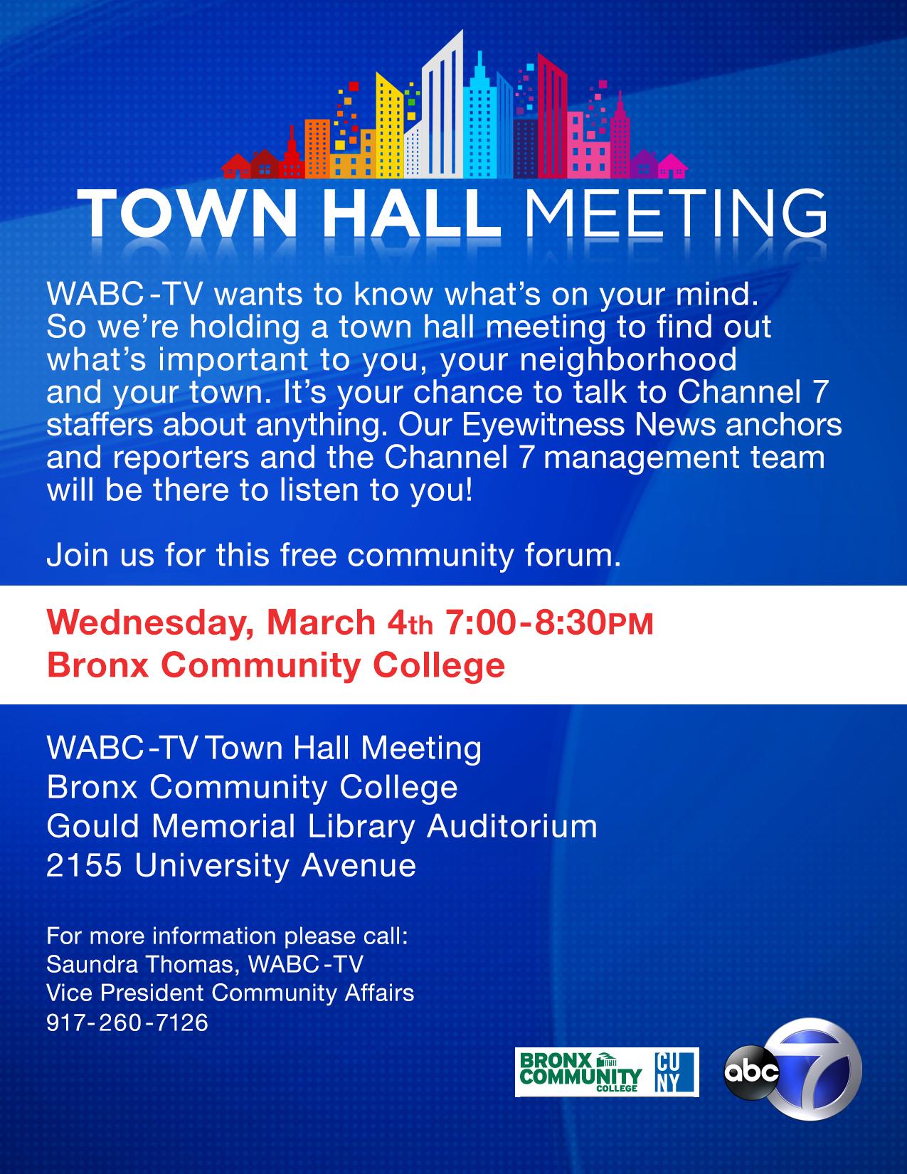 WABCTV Eyewitness News Listens to the Bronx CUNY Newswire