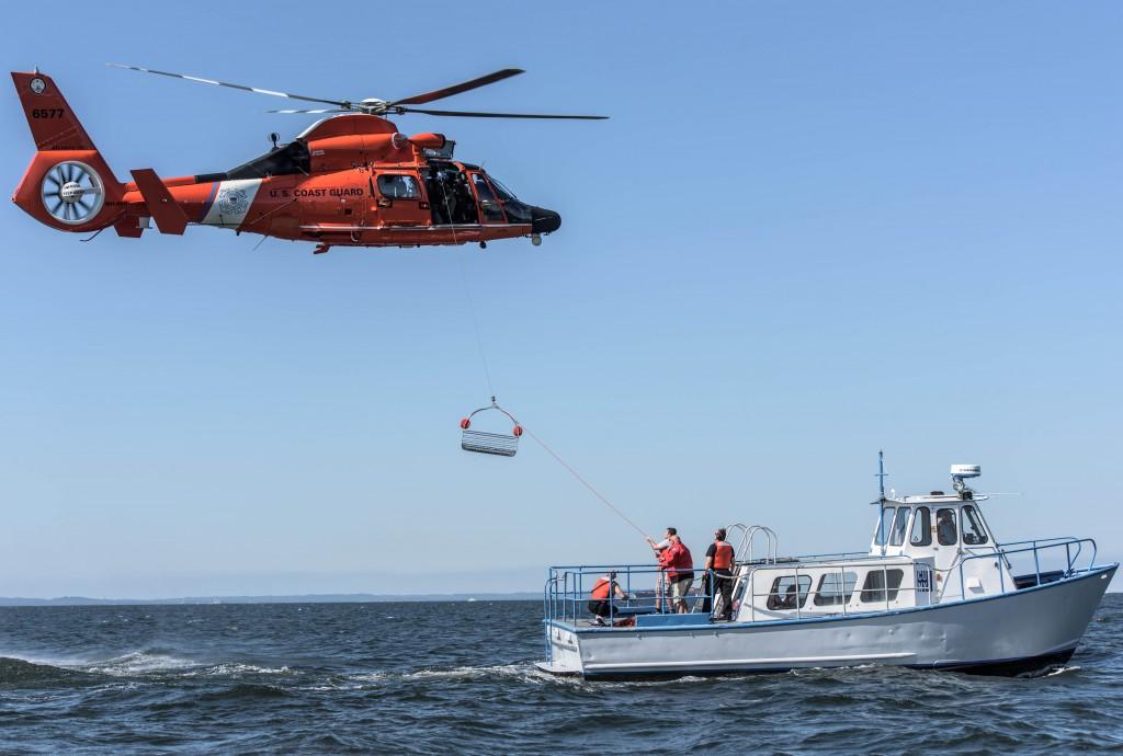 Kingsborough students train with U.S. Coast Guard