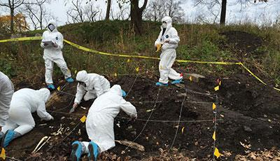 Forensic Dig Is No Mere Walk In The Parkcuny Newswire