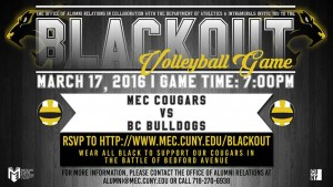 BLACKOUT VOLLEYBALL GAME
