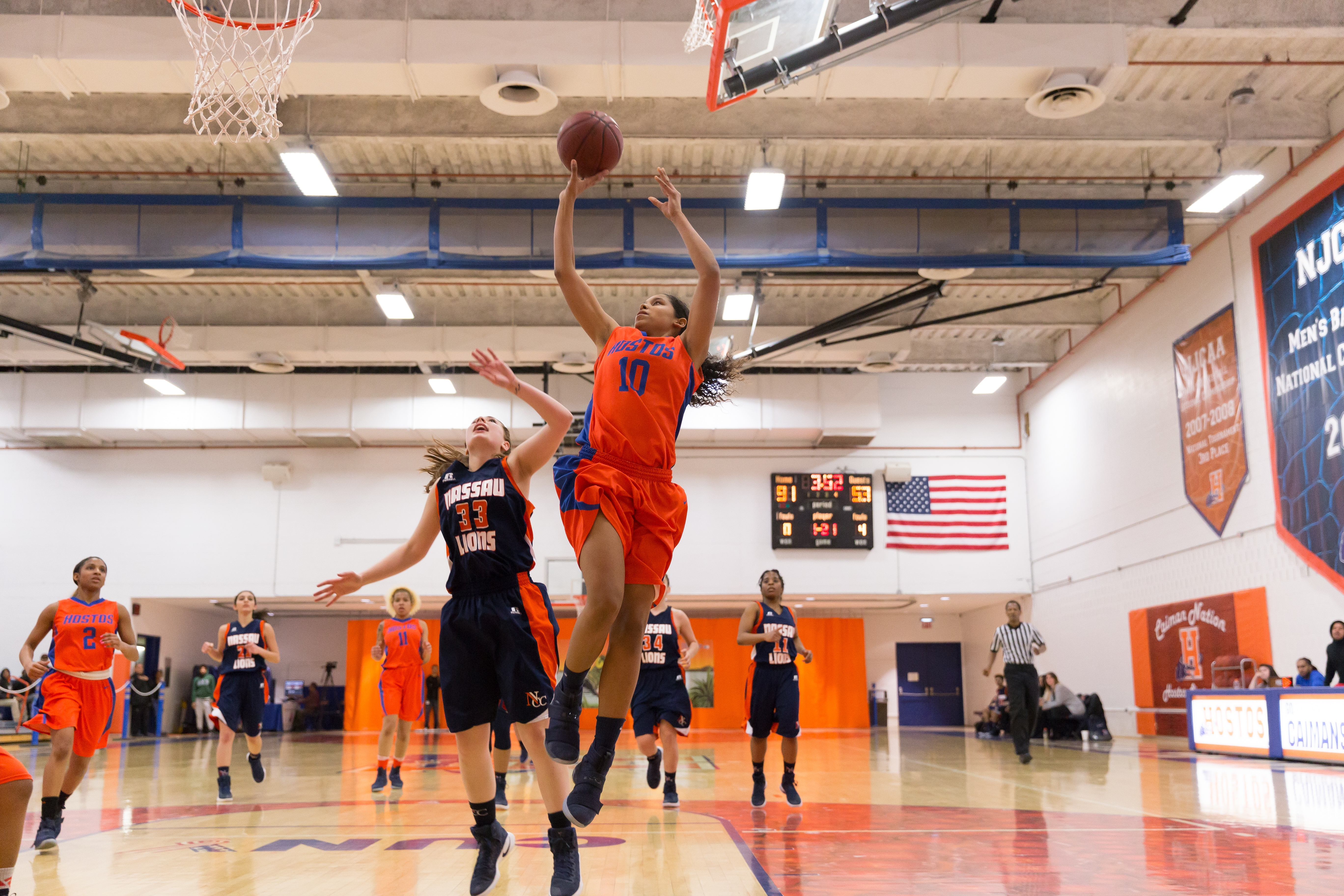 hostos women Hostos women's basketball is still #1 in the country - come watch us play at 6pm tonight in a double-header match-up against monroe bronx.