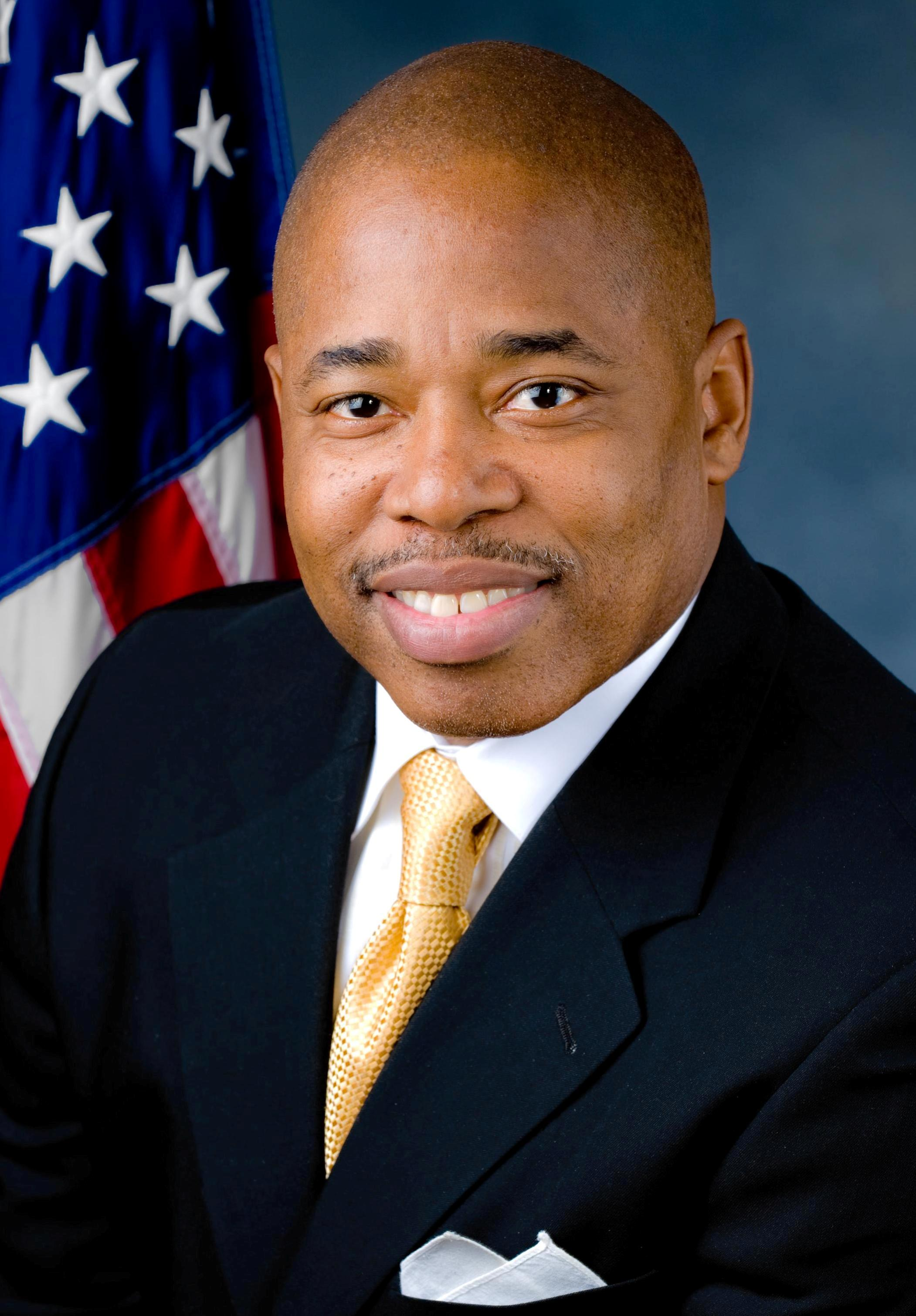 Image result for the President of Brooklyn Borough Eric Adams