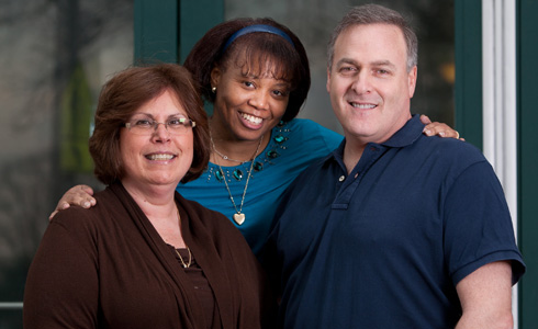 From left: Debbie Rothenberg, Verleatha Hill, and Seth Goldstein