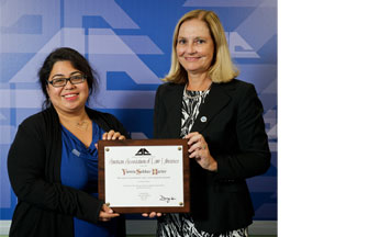 Associate Professor and Reference Law Librarian Yasmin Sokkar Harker receives AALL Award