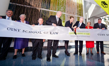 CUNY School of Law Ribbon Cutting