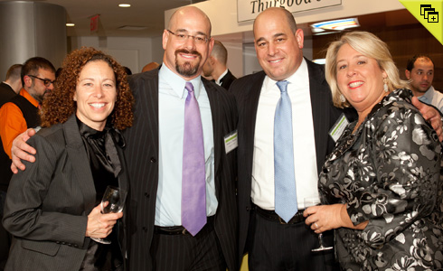 JoAnn LeBright ('92), Daniel Thomas ('92), Peter Thomas ('92), and Rebecca Seawright ('92)