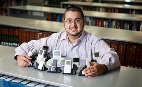 Library Associate Professor Alex Berrio Matamoros