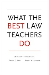 What the Best Law Teachers Do cover