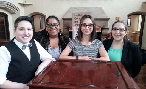 Kim Juszczak ('15), Kelsey Burgess ('15), Sarah Verbil ('15) , and Sara Molinaro ('15)