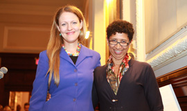 Dean Michelle Anderson and Associate Dean Cheryl Howard