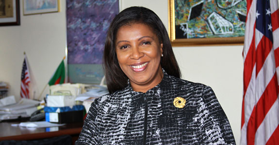 Letitia James, Public Advocate for the City of New York