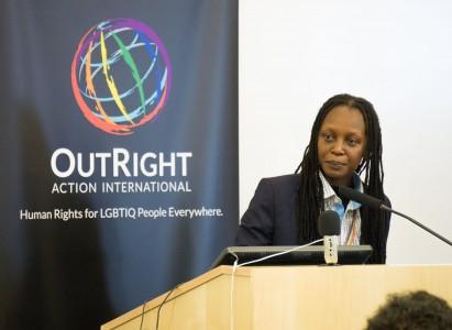 Conference keynote speaker Kasha Jacqueline Nabagesera
