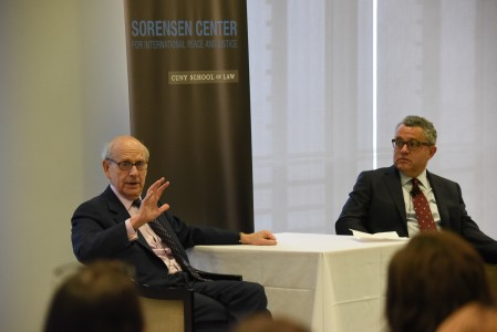 Justice Breyer and Jeffrey Toobin in conversation