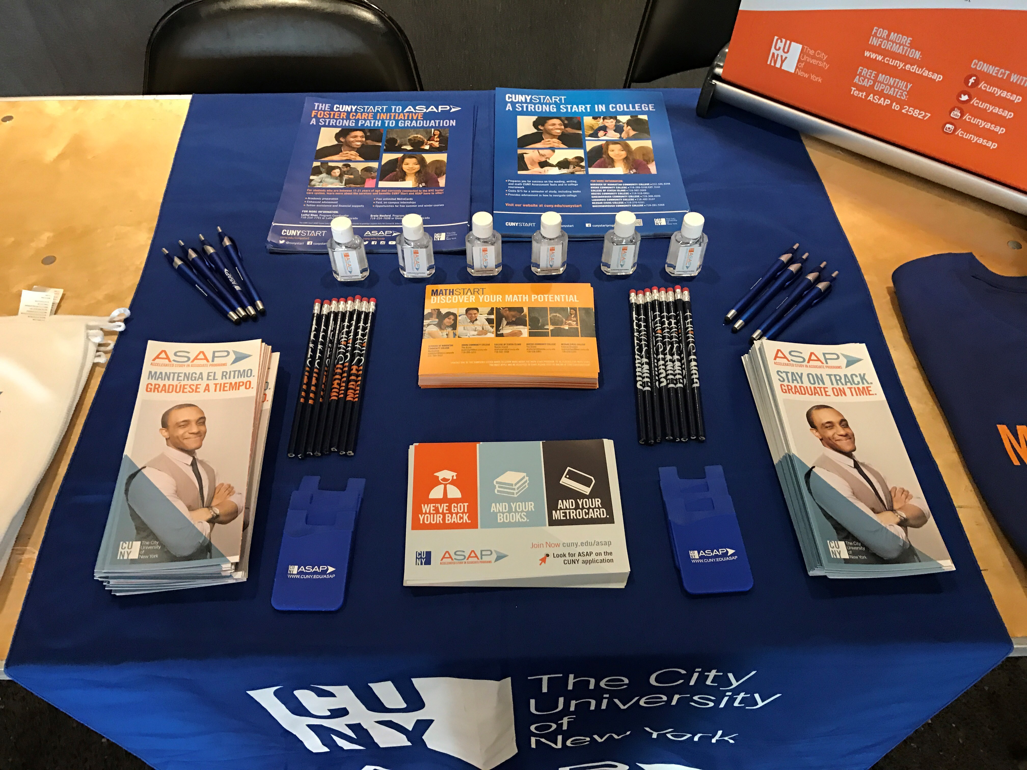 CUNY ASAP Promotional Materials