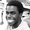 Batala Aristide smiling