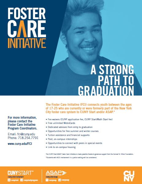 Foster Care Initiative Flyer