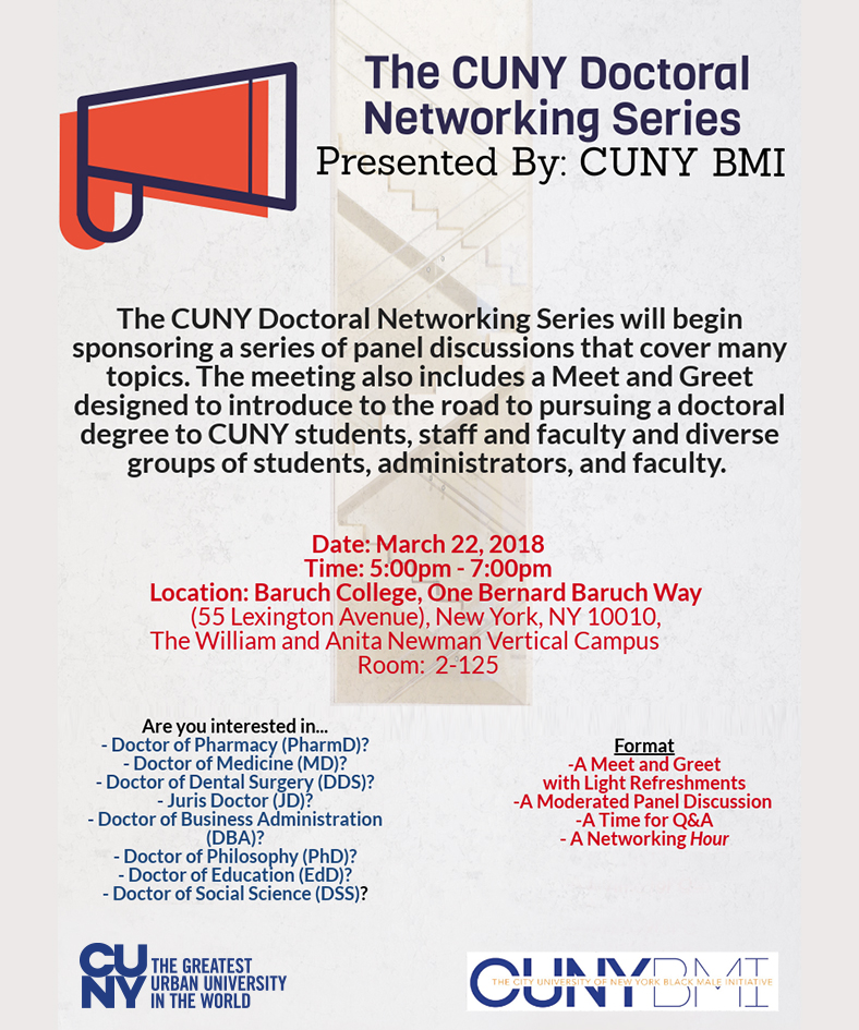 CUNY Doctorak Networking Series