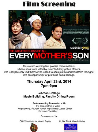 Every Mother's Son event