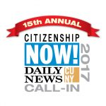 CUNY/Daily News Citizenship Now! Call-in logo