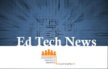 Logo, Ed Tech News and image of circuits