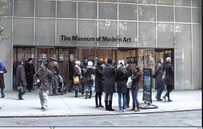 Museum of Modern Art, entrance