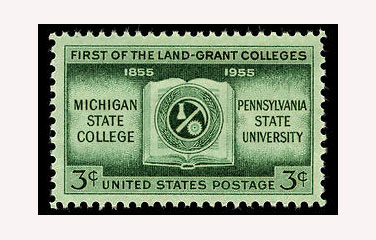 US postage stamp, land grant colleges