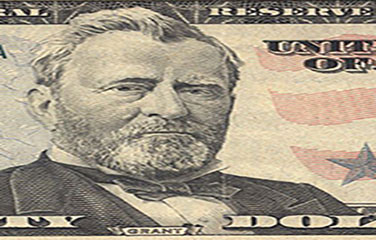 Grant as pictured on a 50 dollar bill