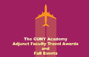 Airplane and Adjunct Faculty Travel Awards