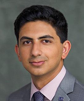 Haris Khan, 2018 University Student Senate Chair