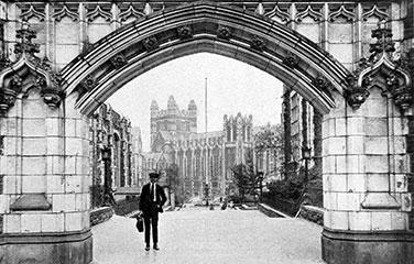 City College Amsterdam Gate in 1921