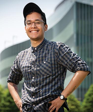 Salk Scholar Kevin Christian Gonzalez, CCNY