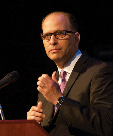 CUNY's Senior Vice Chancellor and Chief Financial Officer Matthew Sapienza