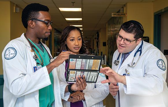 CUNY School of Medicine students