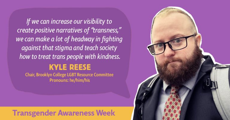 'if we can increase our visibility to create positive narratives of transness, we can make a lot of headway in fighting against the stigma and teach society how to treat trans people with kindness' - Kyle Reese